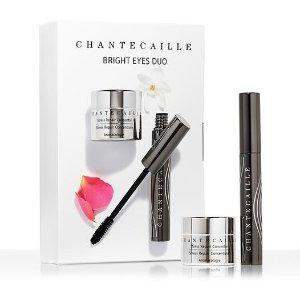 Chantecaille价值$252亮眼套装 - 钻石眼霜 + 浓密纤长睫毛膏