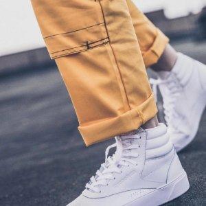 5折+任意单免邮, $9.9收卫衣Reebok官网 持续促销, $25收女款小白鞋