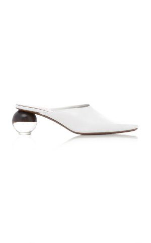 NEOUS Brassia Leather Mules
