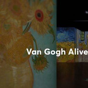 £18起/人Van Gogh Alive 今夏最热梵高展 伦敦肯辛顿火爆售票中