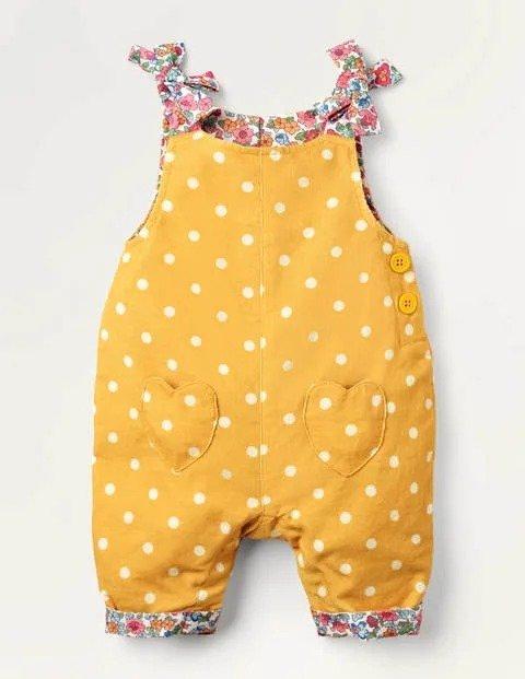 婴幼儿灯芯绒背带裤