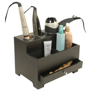 RICHARDS HOMEWARES Personal Organizers Styling Storage Hair Tool Holder