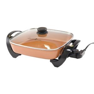 黑五开抢:Copper Chef 12寸方形陶瓷不粘锅插电式电热炉