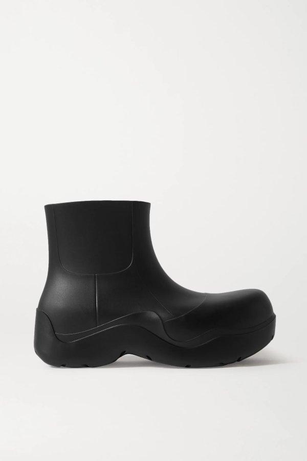 Rubber 新款短靴
