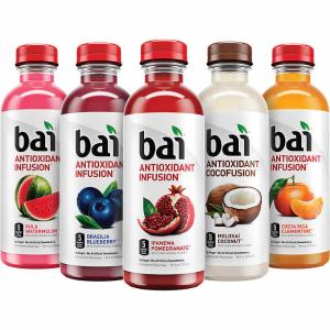 立省$6 售价$16.99(原价$22.99)Bai 果汁口味调味水 18oz 15瓶