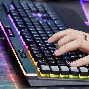 $199.99(原价$269.99)Corsair 海盗船K95白金版 RGB 茶轴游戏机械键盘