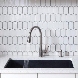 Mirabelle Calverton Pullout Spray Kitchen Faucet