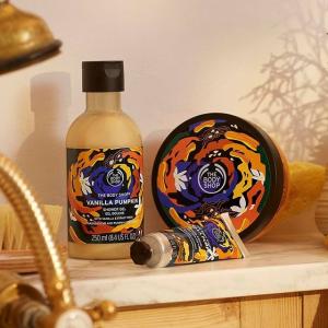无门槛7折The Body Shop 新款身体护理热卖 多种味道沐浴液速囤