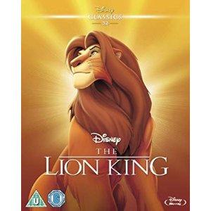 Disney狮子王动画版 蓝光DVD