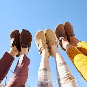 全场7折 £38收经典款凉鞋BIRKENSTOCK 闪促悄悄上新 用舒适征服你的心