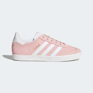 Adidas淡粉Gazelle