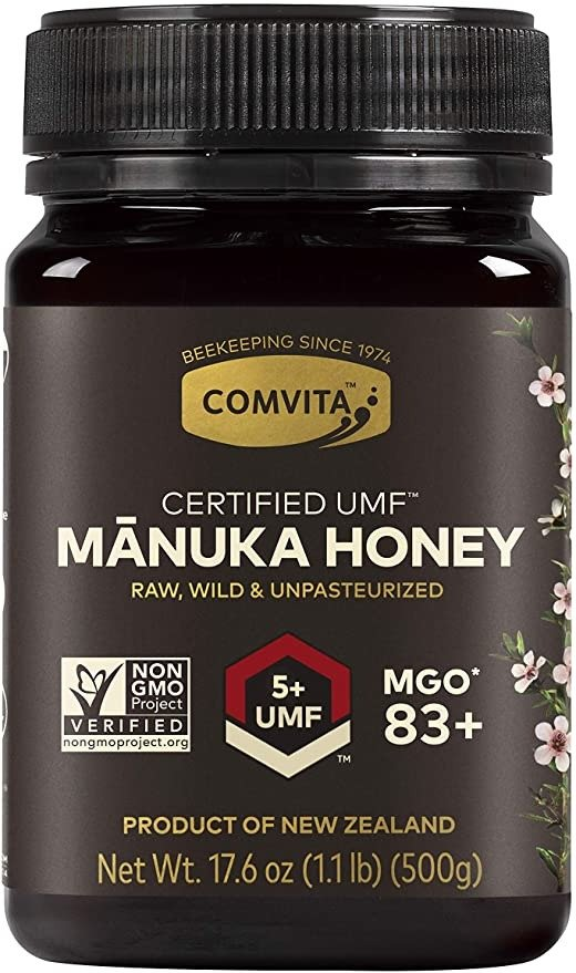 UMF5+ (MGO 83+) 麦卢卡蜂蜜 1.1磅