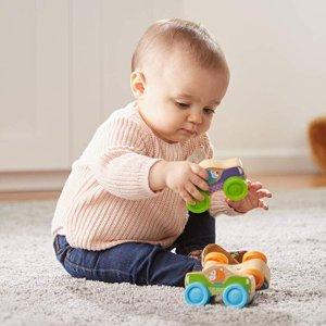 低至4.1折 封面款$8.69Melissa & Doug 0-24个月宝宝早教玩具特卖