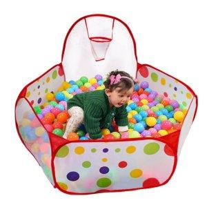 $15.69起儿童帐篷,爬行隧道、海洋球特卖,在家玩乐好伙伴