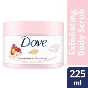 Dove买一送一红石榴冰淇淋磨砂膏225ml