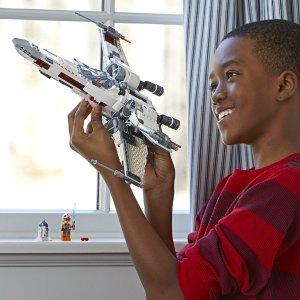$74.98包邮(原价$99.99)LEGO 乐高 星球大战  X翼星际战机 730pcs