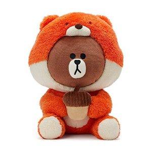 Line Friends布朗熊玩偶