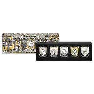 Diptyque5 Mini Candle Set