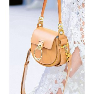ChloeGet $250GC,$600GC with $2000Tess Small Leather/Suede Camera Crossbody Bag
