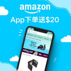 $20 Off $40Amazon Shopping App Offer