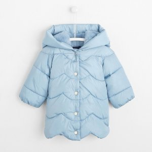 JacadiToddler girl mid-length puffer jacket