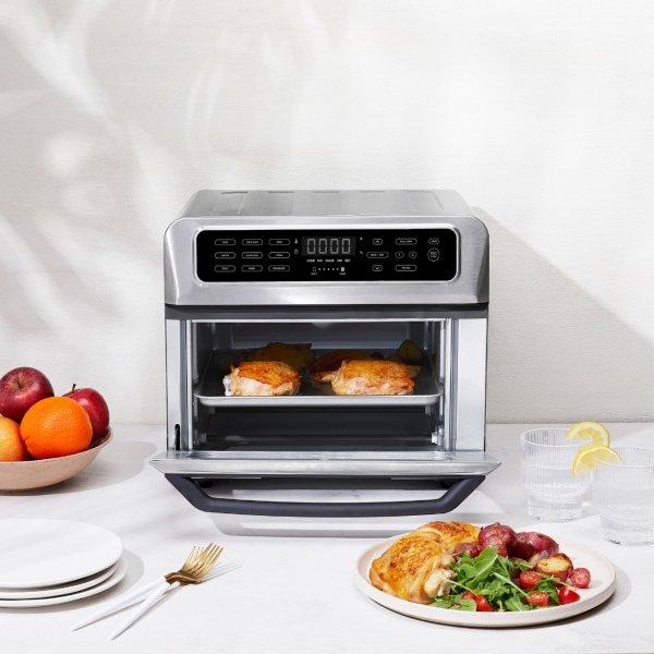4片式小烤箱+空气炸锅二合一