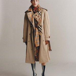 低至7折+额外7.5折 $393收羽绒服Burberry 女款服饰热卖 $414收风衣