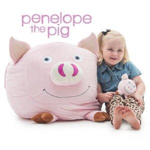 $29.88-$34.88 收只生肖猪Big Joe 超大动物造型儿童豆袋沙发 多款可选