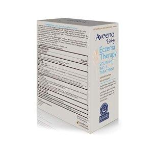 舒缓婴儿湿疹沐浴粉两盒 共10包