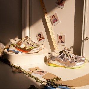 低至3折+晒单抽奖 双G小白鞋补货DSW 美鞋美包再降 Gucci脏脏鞋$249.99,草莓踩跟乐福鞋$264