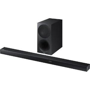 $149Samsung HW-M550/ZA 340W 3.1-Channel Bluetooth Soundbar w/ Wireless Subwoofer