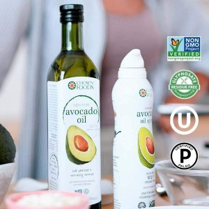 $4.97(Well $11.99)非转基因Chosen Foods 纯牛油果油 降血脂保护心血管 宝宝辅食也可用