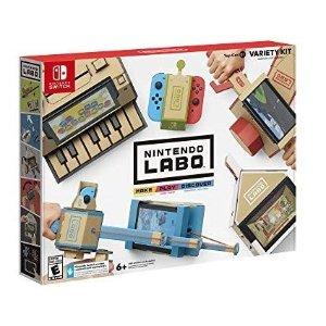$39.99 包邮Nintendo Labo Variety Kit Switch 纸板游戏套装