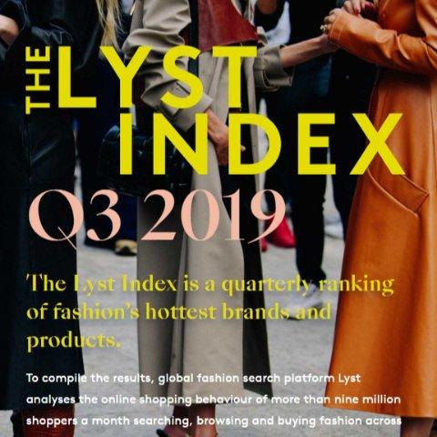 内附最全折扣导航 不倒经典、三大黑马值得瞩目合集:The Lyst 2019年全球最受欢迎时尚品牌排名强势出炉 你爱的大牌上榜了吗