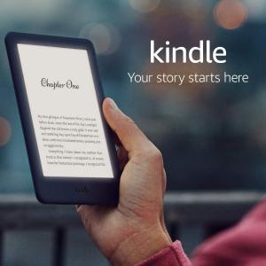 史低价:Kindle 电子阅读器翻新机闪促 黑白两款可选