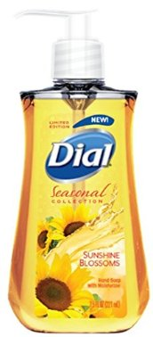 Dial Liquid Hand Soap Sunshine Blossoms 7.5 Fluid Ounces