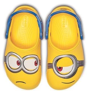 低至¥121.5CROSS 儿童洞洞鞋 超萌小黄人