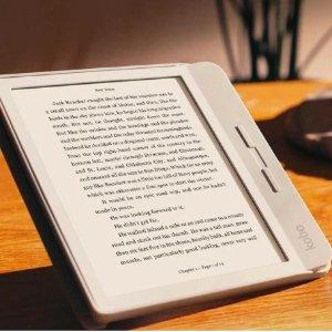 7寸变光墨水屏Kobo Libra H2O 阅读器