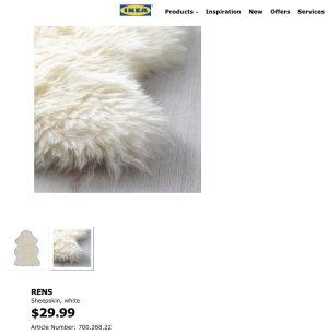 RENS Sheepskin - IKEA