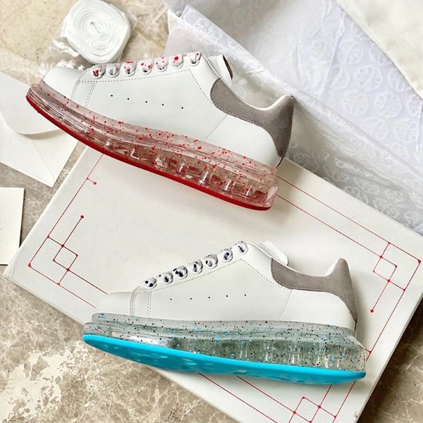 Larry 水晶底小白鞋