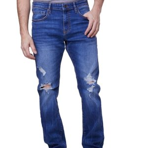 全场$17.99Lazer Denim 男士直筒牛仔裤,款式多样