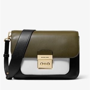 76473ae3d3fa Michael KorsSloan Editor Color-Block Leather Shoulder Bag. $223.50 $298.00. Michael  Kors Sloan Editor ...