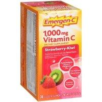 Emergen-C 1000mg 维生素C 草莓味 30包
