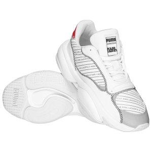 PUMA x Karl Lagerfeld 联名款老爹鞋 穿上腿长
