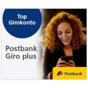 全德5600个提款机提现Postbank Giro Plus 转账账户开户送150欧来了