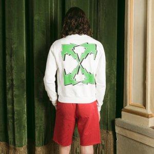 2.5折起!LogoT恤仅£82Off-white 夏季大促抄底价入 收LogoT恤、小白鞋、腰带等
