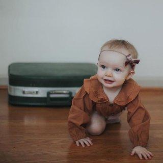低至$5 新加入花边衬衣才$15StrollerHaus 婴幼童服饰特卖 时尚宝宝从小抓起