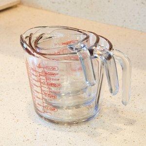 $7.99(原价$39) 2折手慢无史低价:Anchor Hocking 玻璃量杯3件套 同类销量冠军