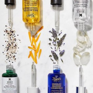 20% off + 10-piece Free GiftKiehl's Facial Serums Sale