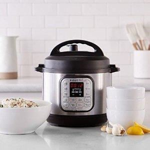 $59.89Instant Pot Duo Mini 3 Qt 7-in-1 Multi- Use Programmable Pressure Cooker
